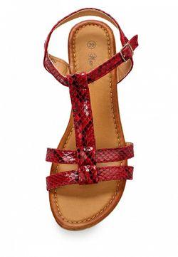 Сандалии Max Shoes                                                                                                              красный цвет