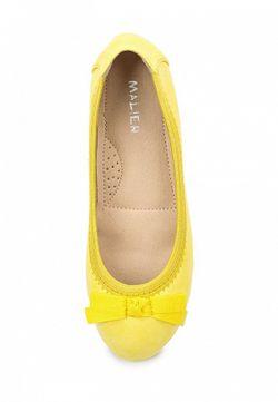 Балетки Malien                                                                                                              желтый цвет
