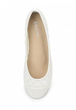 Балетки Malien                                                                                                              белый цвет
