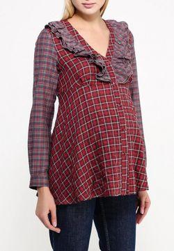 Блуза MammySize                                                                                                              красный цвет