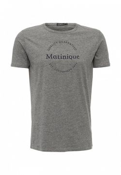Футболка Matinique                                                                                                              серый цвет