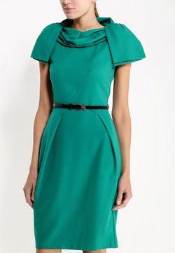 Платье MadaM T                                                                                                              зелёный цвет