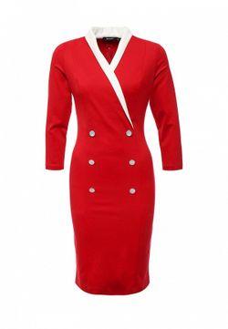 Платье MadaM T                                                                                                              красный цвет