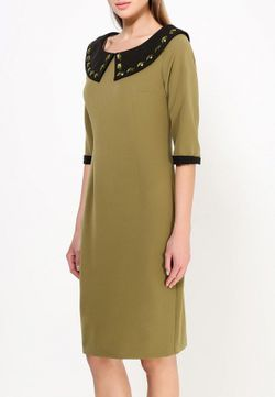 Платье MadaM T                                                                                                              хаки цвет