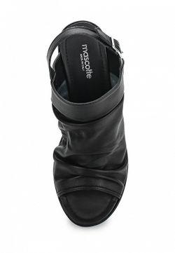 Босоножки Mascotte                                                                                                              чёрный цвет