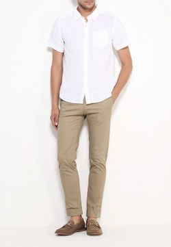 Рубашка MeZaGuz                                                                                                              белый цвет