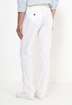 Чиносы MeZaGuz                                                                                                              белый цвет