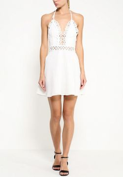 Сарафан MISSGUIDED                                                                                                              белый цвет