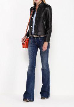 Куртка Кожаная Michael Michael Kors                                                                                                              черный цвет