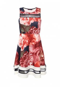 Платье Missi London                                                                                                              многоцветный цвет