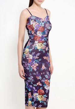 Платье Missi London                                                                                                              фиолетовый цвет