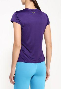 Футболка Спортивная Mizuno                                                                                                              фиолетовый цвет