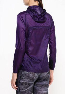 Ветровка Mizuno                                                                                                              фиолетовый цвет