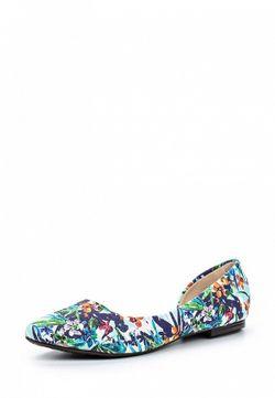 Балетки Moleca                                                                                                              многоцветный цвет
