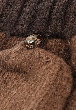 Перчатки Modo Gru                                                                                                              коричневый цвет