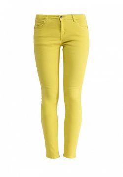 Джинсы MOTIVI                                                                                                              желтый цвет