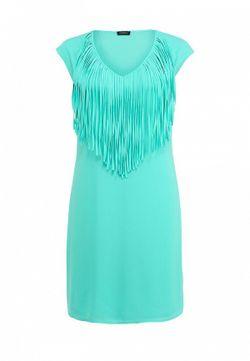 Платье MOTIVI                                                                                                              зелёный цвет