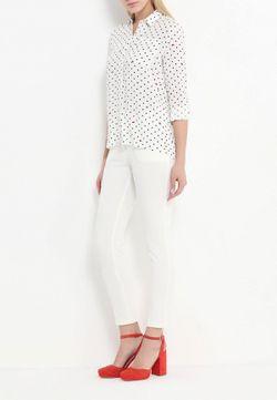 Блуза MOTIVI                                                                                                              белый цвет