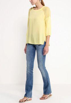 Блуза Modis                                                                                                              желтый цвет