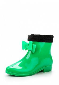 Резиновые Полусапоги Mon Ami                                                                                                              зелёный цвет