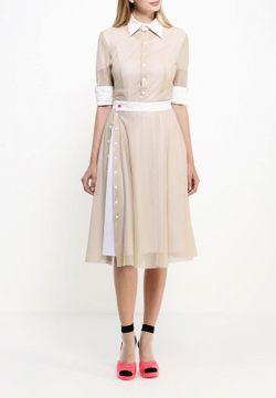 Платье Bodra                                                                                                              бежевый цвет