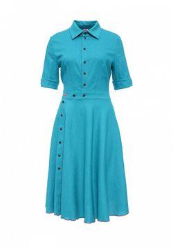 Платье Bodra                                                                                                              голубой цвет