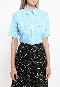 Рубашка Bodra                                                                                                              голубой цвет