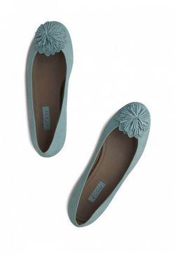 Балетки Owando Ecco                                                                                                              голубой цвет