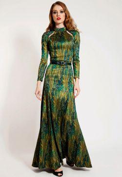 Платье Ksenia Knyazeva                                                                                                              зелёный цвет