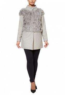 Пальто Grafinia                                                                                                              серый цвет