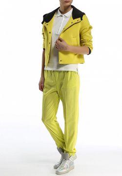 Брюки MSGM                                                                                                              желтый цвет