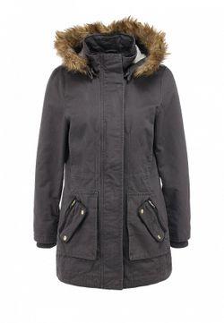 Куртка Утепленная Naf Naf                                                                                                              серый цвет