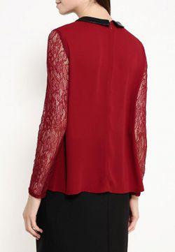 Блуза Naf Naf                                                                                                              красный цвет