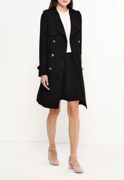 Пальто Naf Naf                                                                                                              чёрный цвет