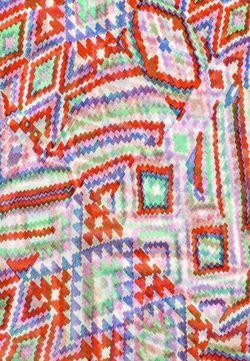Платок Naf Naf                                                                                                              многоцветный цвет