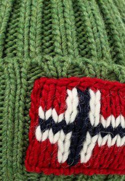 Шапка Napapijri                                                                                                              зелёный цвет