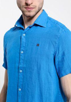 Рубашка Napapijri                                                                                                              синий цвет