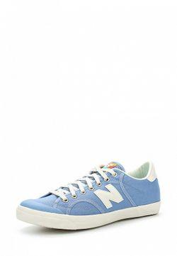 Кеды New Balance                                                                                                              голубой цвет