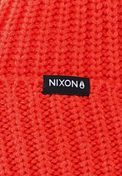 Шапка Nixon                                                                                                              оранжевый цвет