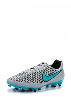 Бутсы Nike                                                                                                              серый цвет