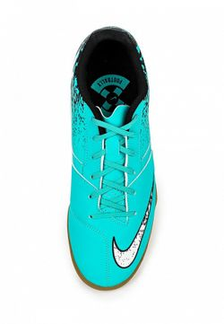 Бутсы Зальные Nike                                                                                                              Бирюзовый цвет