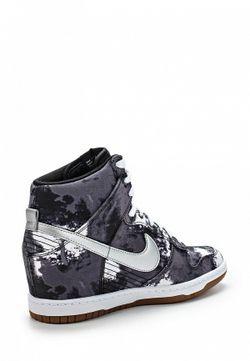Кеды На Танкетке Nike                                                                                                              многоцветный цвет