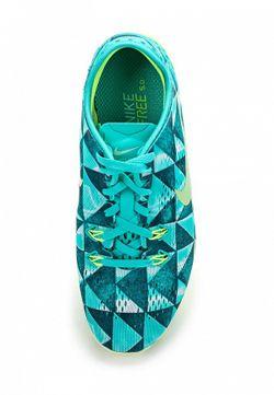 Кроссовки Nike                                                                                                              голубой цвет