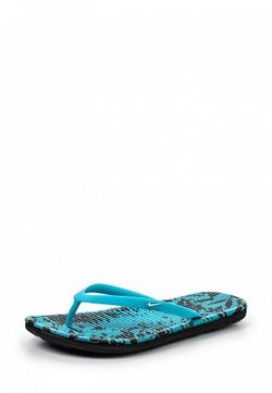 Сланцы Nike                                                                                                              голубой цвет