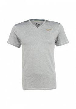 Футболка Спортивная Nike                                                                                                              серый цвет