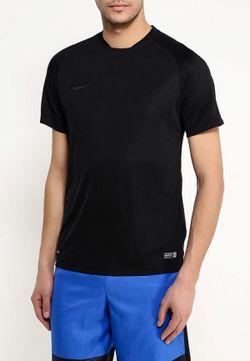 Футболка Спортивная Nike                                                                                                              чёрный цвет