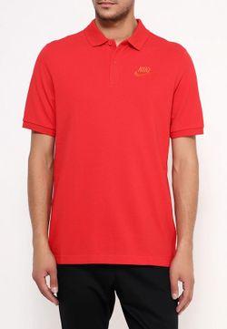 Поло Nike                                                                                                              красный цвет