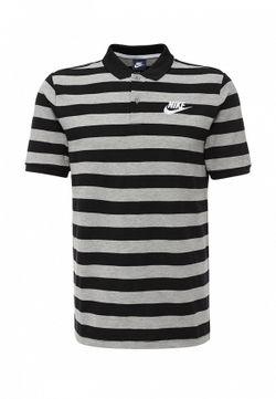Поло Nike                                                                                                              серый цвет