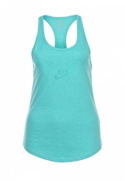 Майка Nike                                                                                                              голубой цвет