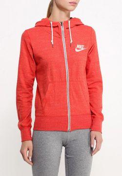 Толстовка Nike                                                                                                              оранжевый цвет